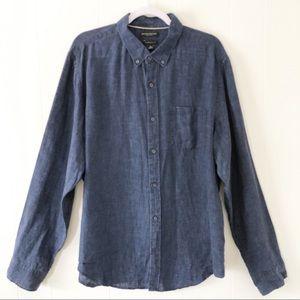 Banana Republic Camden Fit 100% Linen Shirt XL